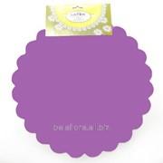 Фольга салфетка фиолетовая M0027-06 фото