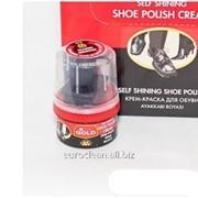 Крем-краска для обуви Silver банка 50 мл черный фото