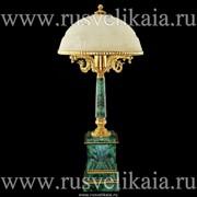 Лампа настольная Малахит Златоуст фото