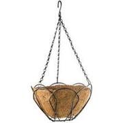 Сибртех Подвесное кашпо 25 см, с кокосовой корзиной Palisad фото