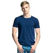 Мужская футболка-стрейч StanSlim 37 Тёмно-синий XS/44 фото