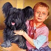 Портрет маслом по фото фото
