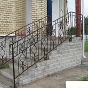 Перила, ограждения для лестниц металлические фото