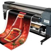 Широкоформатная печать на эко-сольвентном принтере. Винил перфорированный, One way vision 720dpi x 8pass фото