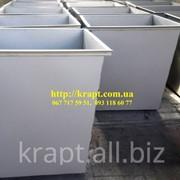 Контейнер для сбора мусора металлический фото