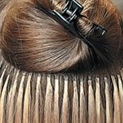 Наращивание волос на кератиновых капсулах фото