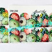 Наклейка на ногти Sliders art DM - 232 фото