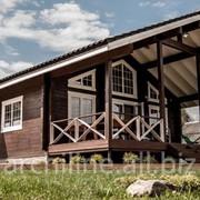 Дом из сухого профилированного бруса 141 м² фото