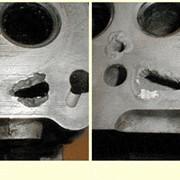 Устранение дефектов - трещин, каверн, свищей силуминового, чугунного и стального литья в производстве фото