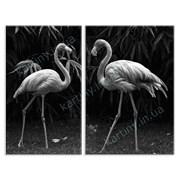 Картина Фламинго фото