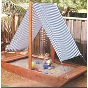 Детские песочницы из дерева ручной работы, детские площадки фото