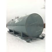Горизонтальный резервуар РГС-50 на санях фото