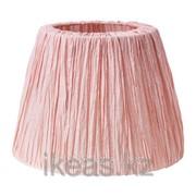 Абажур розовый ХЕМСТА фото