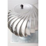 Вентиляционные турбины (вытяжки), ротовенты на кровлю и дымоход фото