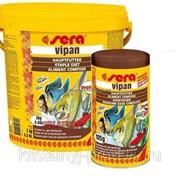 Корм для рыб Sera Vipan крупные хлопья 20л фото