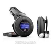 Модулятор FM Energy Sistem Car FM-T / MP3 Player Energy 1204 4GB Deep Black (FM-T,detachable player,belt clip,EarPhones) фото