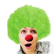 Карнавальный парик Кудрявый зеленый фото