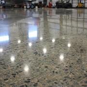 Промышленные полы. Полированный бетон. фото