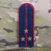 Погоны МВД старший лейтенант на китель нового образца звезда латунь №11 фото