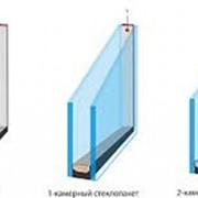 Замена стекол на стеклопакеты фото
