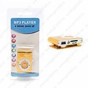 MP3 плеер металлический (Золотой) фото