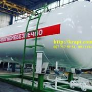 Резервуар для хранения газа (СУГ) 10 м.куб фото