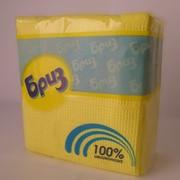 Салфетки бумажные Бриз цветные, 50 шт./пач. фото