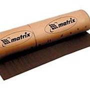 Matrix Шкурка на тканевой основе, P 80, 1000 мм х 20 м, водостойкая Matrix фото