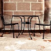 Кованная мебель фото