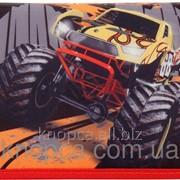 Пенал Kite 621 Hot Wheels-2 1 отделение Черно-красный фото