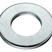 Шайба плоская DIN 125 (аналог ГОСТ 11371) оцинкованная с покрытием ф6 - 30 фото