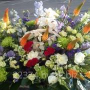 Композиция из живых цветов для ВИП-клиентов фото