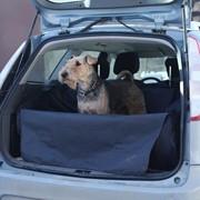 """Автогамак для перевозки собак """"OSSO Car Premium"""" с защитой обивки в багажник фото"""