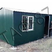 Бытовка строительная 5х2,4х2,3м, дачный домик фото