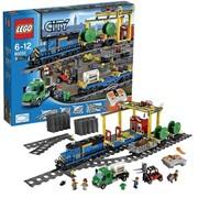 60052 Лего Город Грузовой поезд фото