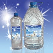 Вода дистиллат налив 1л-0.54грн,в ПЭТ таре 1л-3грн,5л-10грн. фото