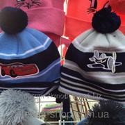 Детские шапки тонкая вязка, код товара 234349440 фото