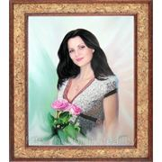 Портрет женский. Холст, масло. фото