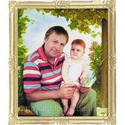 Портрет маслом на заказ в Минске. Художник Андрей Блинов. фото