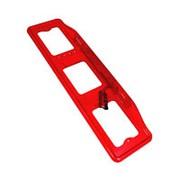 Рамка для номера с верхней подсветкой красная АВ009К фото