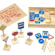 Серия игрушек Окружающий мир 5025 Дорожные знаки фото