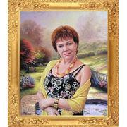 Женский портрет. Холст, масло. фото