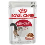 Royal Canin 85г пауч Instinctive Влажный корм для взрослых кошек с 1 года (соус) фото