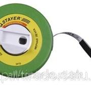 Мерная лента Stayer фиберглассовая, 30м Код: 3415-30 фото