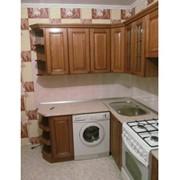 Кухонный гарнитур деревянный фото