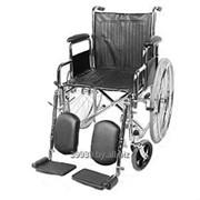 Кресло-коляска инвалидная складная, ширина сидения 46 см фото