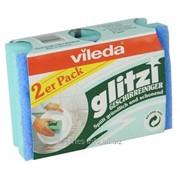Губка Vileda для посуды Глитци 2 шт 125056 фото