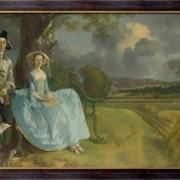 Картина Мистер и миссис Эндрюс, Гейнсборо, Томас фото