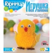 Наборы для изготовления игрушек из помпонов фото