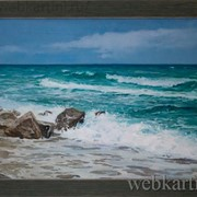 Картина Морской берег фото